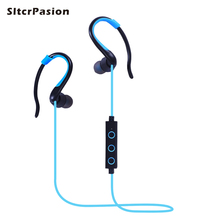 SltcrPasion 2017 Sport Headset Wireless Bluetooth Earphone Bluetooth Headphones with Microphone Fone de Ouvido Sem Fio Kulaklik fone de ouvido sem fio wireless headphone mini bluetooth headset hands free earphone micro earpiece headphones tripod for phone