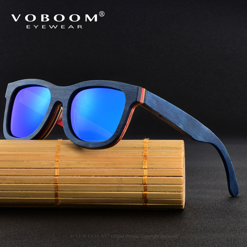 65de8f358d VOBOOM Classic Brand Designer Polarized Sunglasses Men Women Handmade  Wooden Retro Sun Glasses Vintage Eyewear 001-in Sunglasses from Apparel  Accessories on ...