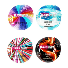 Elasun 34 Pcs Condoms 6 Types Ultra thin Ice and Fire Large Dotted Pleasure Condom For Man,Sex Safer Contraception For Couples