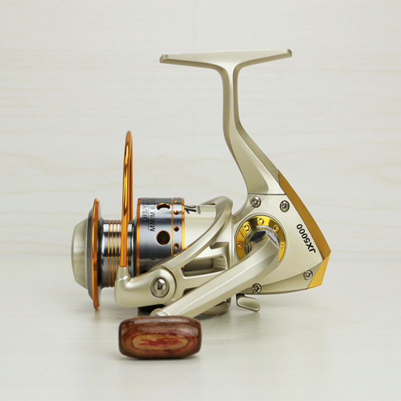 New Metal Spinning Fishing Reel 12BB 5.5:1 Fishing tackle Spinnning Reel Left / right rocker interchangeable Fishing Wheel