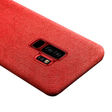 Baseus Alcantara Fabric Case for Samsung S9 S9Plus