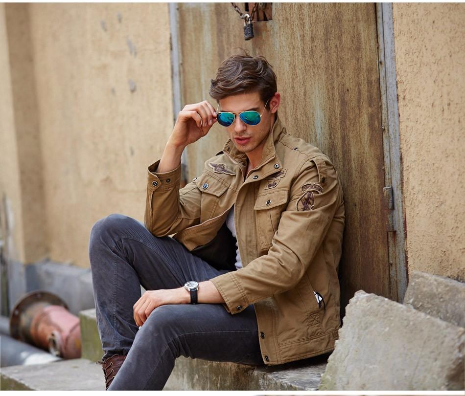 tawill для мужчин куртку жан военный плюс Размер 6xl солдат армии хлопка ввс один мужской бренд одежды демисезонный для мужчин с куртки 8331