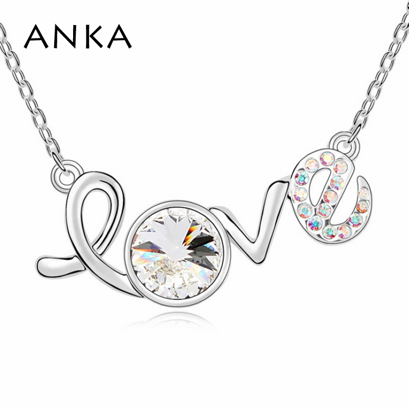 Анка final fantasy интернет-магазины jewelry аксессуары чудо-женщина любовь кристалл ожерелье с кристаллами от Swarovski #97115