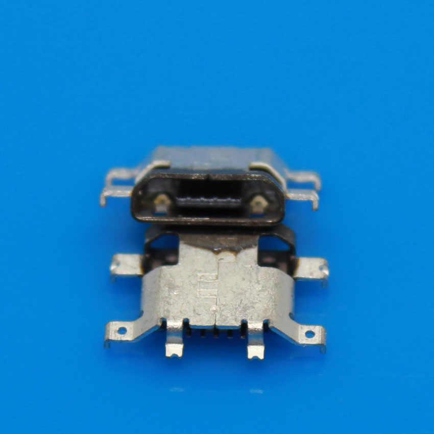 Sockect JCD Cauda Micro USB de Carregamento para Motorola xt928/xt1060/MOTO X Micro USB Conector Fêmea