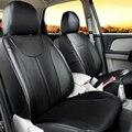 Asiento cubiertas y ayudas para volkswagen Passat R36 cubierta asientos cómodos de cuero de LA PU de protección del asiento de coche cubre accesorios de automóviles
