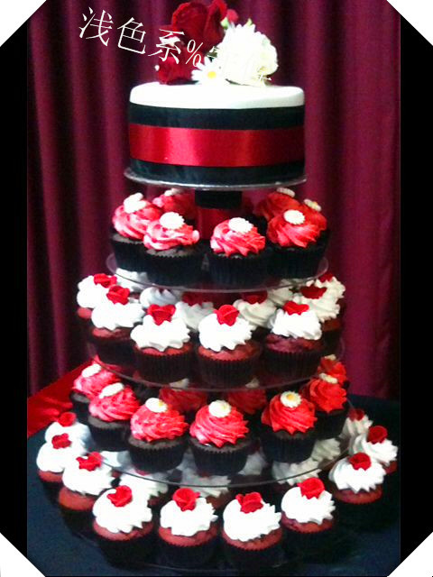 Best Selling Round Clear 5 Tier Acrylic Wedding Cake Cupcake Display Stand For Wedding Party