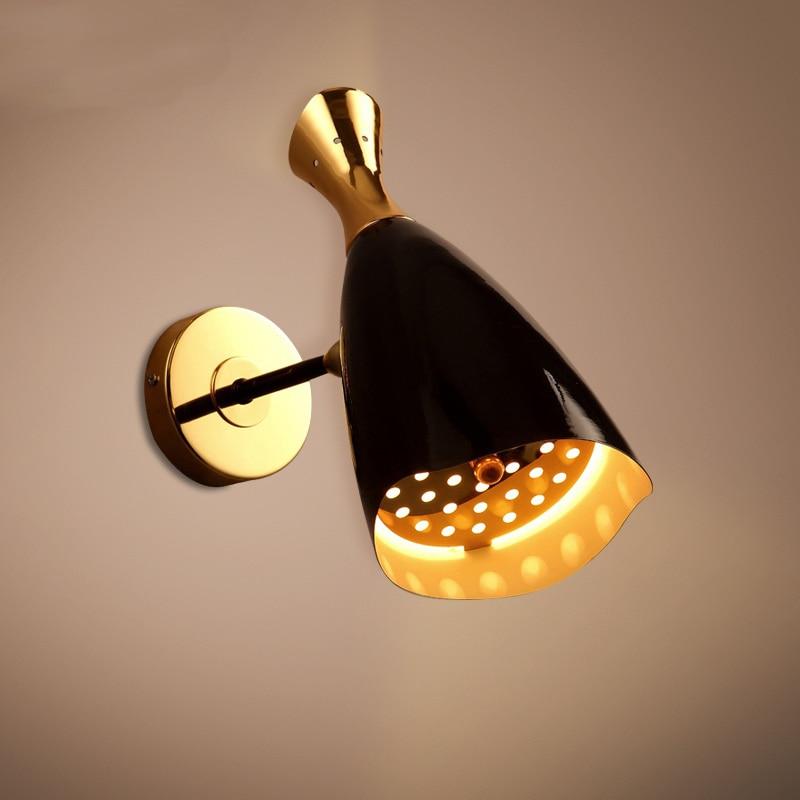 Здесь можно купить  Free shipping After the modern minimalist designer loft lamp creative arts Living Room  Bar Cafe  clothing store Wall lamp  Свет и освещение