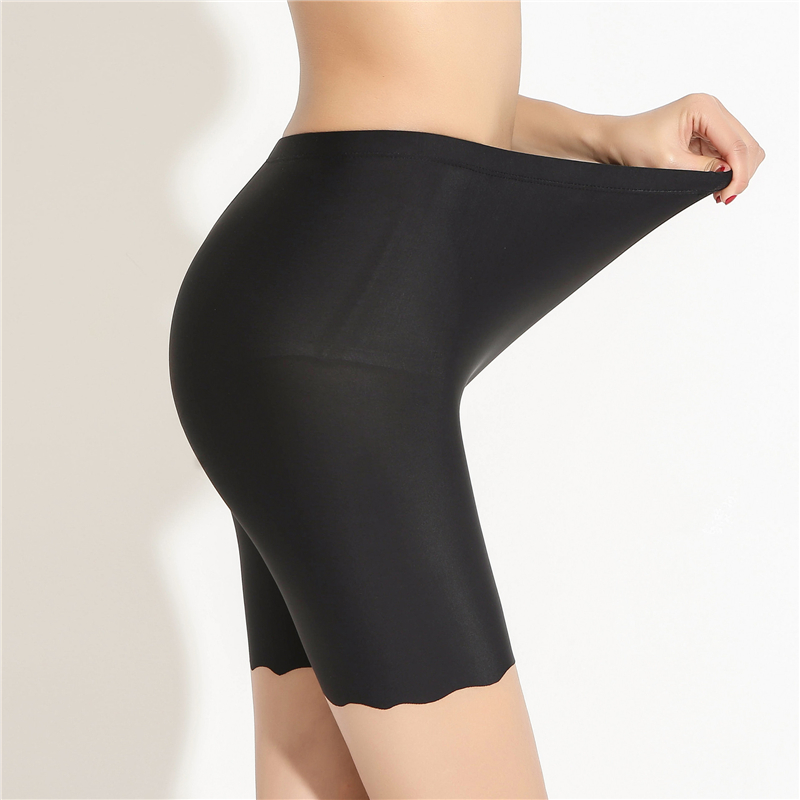 Safety Pants For Women Plus Size 4XL Seamless Skirt Shorts High Waist Soft Comfortable Boxer Panties Ladies Underwear
