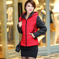 2017 New Fashion warm Winter Jacket women Thick Polka Dot winter coat women Medium-long Duck Down Parkas outerwear H235