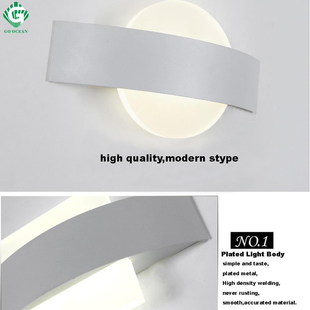 geh ozean wandlampen wandleuchter moderne led - wand licht flur ...