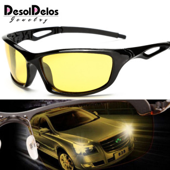 Night Vision Glasses For Headlight Polarized Driving Sunglasses Yellow Lens UV400 Protection Night Eyewear for Driver Oculos