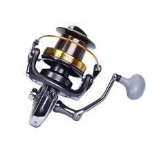 Four measurement 8000-11000 Metallic no hole distant fish wheel sea function fishing wheel spinning wheel reel fishing instrument Equipment