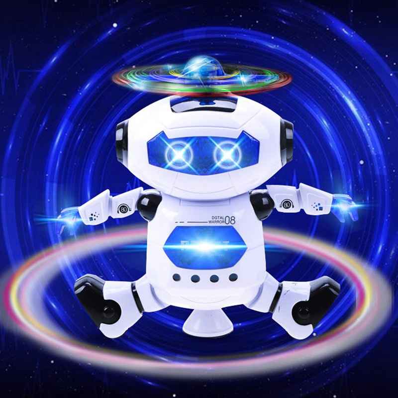 Intelligent Robot Dancing Remote Control Toys Dance Robot Toy Model Electric Musical Action Figures Toys For Child Birthday Gift