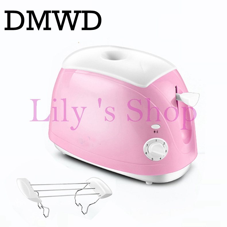 DMWD Household Baking Bread making Machine Automatic electrical Toaster Breakfast Machine maker Toast oven 2 Slices pieces EU US stainless steel household portable electric toaster breakfast machine automatic bread baking maker fried eggs boiler frying pan
