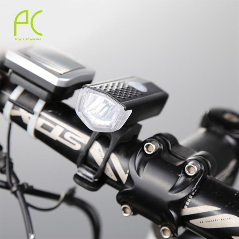 PCycling 3 W LED Resistente Al Agua Para Bicicleta Ciclismo Frente Cabeza de Luz
