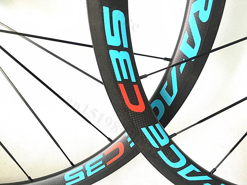 700C 38mm 50mm 60mm Clincher Tubular Road Bike Bicycle Carbon Wheels LightWeight Racing Road Bike Wheelset R36 Ceramic hubs mountain bike four perlin disc hubs 32 holes high quality lightweight flexible rotation bicycle hubs bzh002
