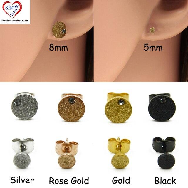Boucles d'oreilles 8 mm
