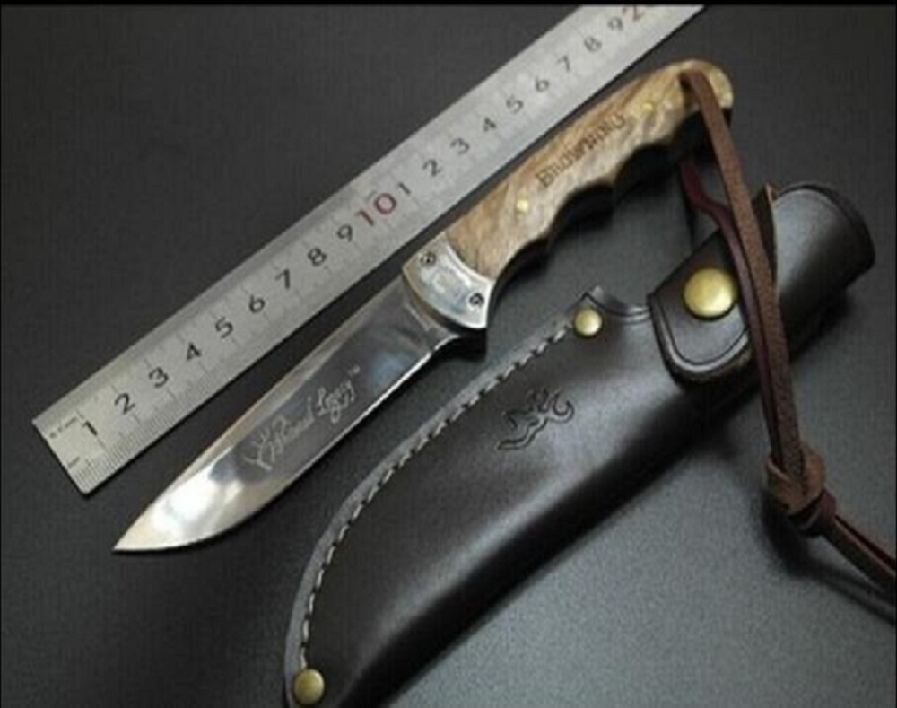 Browning Shadow Wood Hunting Knife Yangjiang knives Small straight knife Saber Camping outdoor knives стоимость