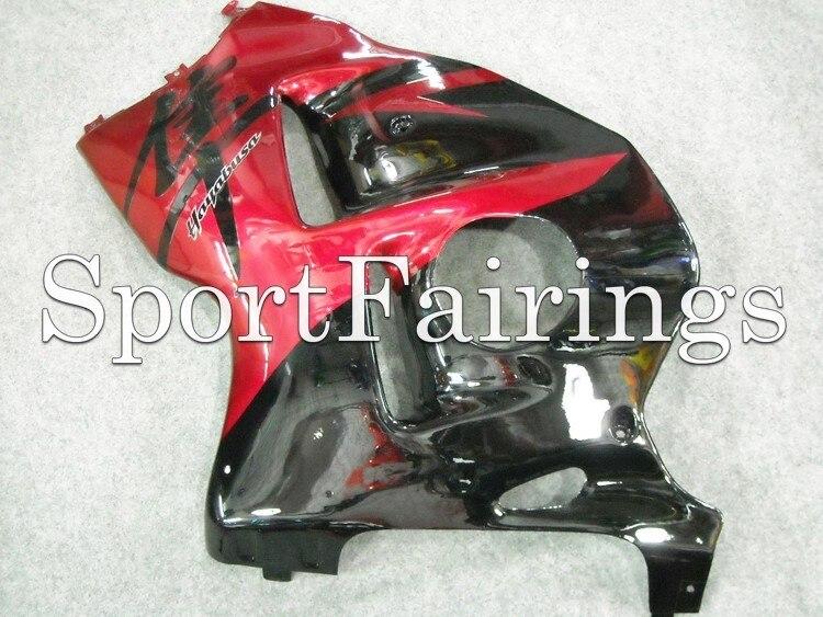 Черный, красный Обтекатели для Suzuki GSXR1300 Hayabusa 97 98 99 00 01 02 03 04 05 06 07 1997 2007 ABS мотоциклов обтекателя Kit Кузов