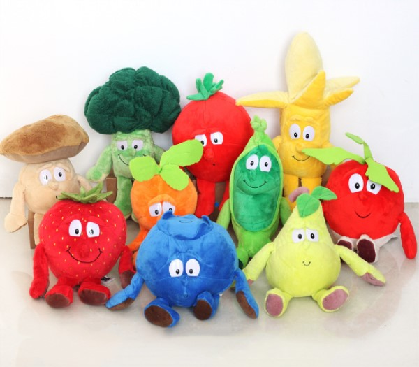 Vegetables Green Chinese onion Stuffed Toy Kids Girls Birthday Gift Soft Pillow