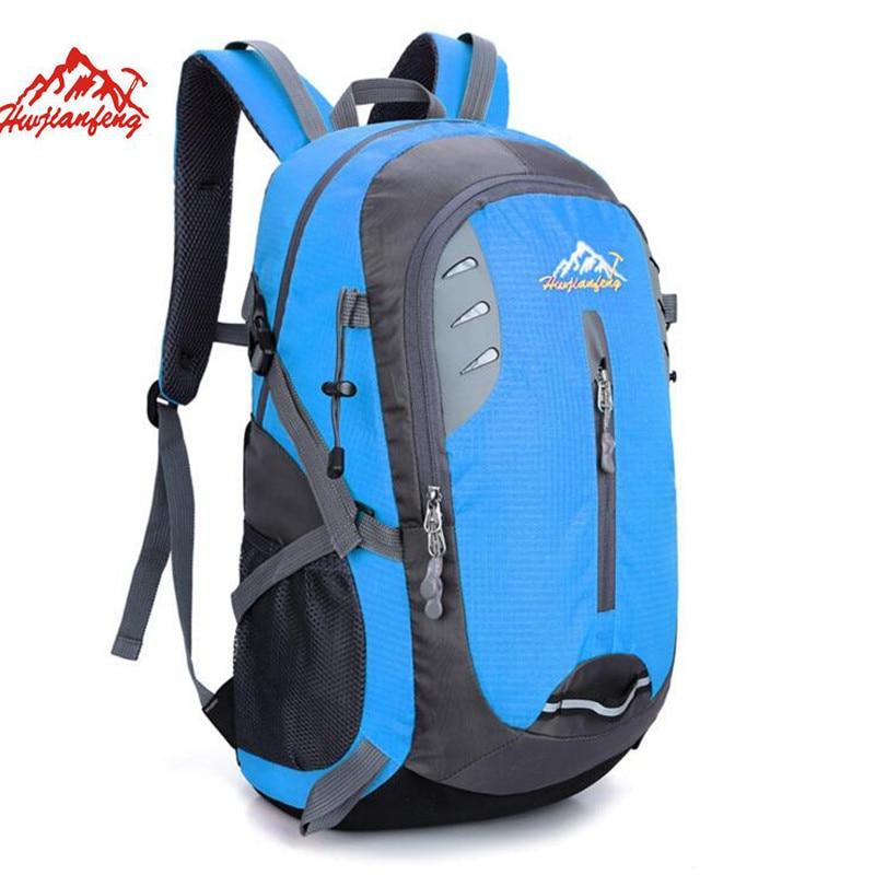 2017 New Outdoor Climbing Backpacks Large-Capacity School Bag Travel Backpacks Men Sport  Mountaineering Backpacks S018 рюкзаки zipit рюкзак shell backpacks