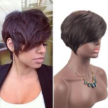 Buy Short Black Hairstyles And Get Free Shipping On Aliexpress Com