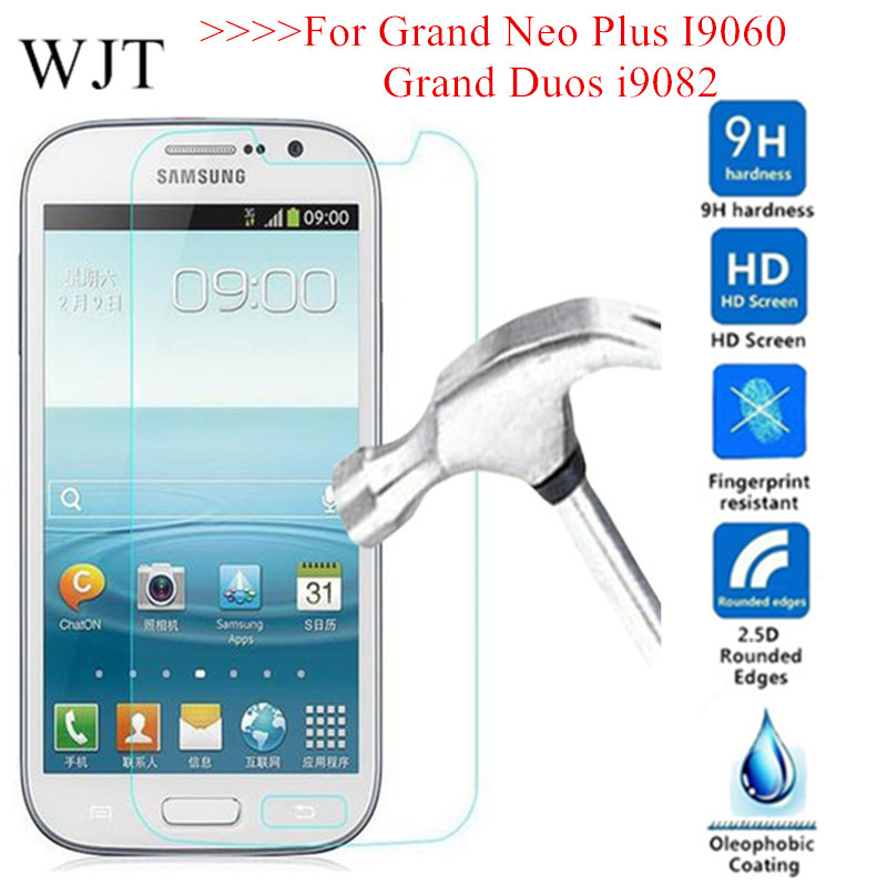 Sklo Tempered Glass For Samsung Galaxy Grand Neo i9060 9060 Grand Neo Plus i9060i glass on Grand Duos I9082 Screen Protector