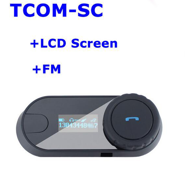 Nuevos Accesorios Casco de Motocicleta Intercomunicador Bluetooth Multi Interphone Auriculares Inalámbricos Auricular 3 Riders