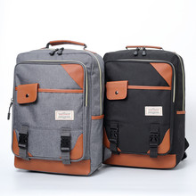 цена на Vintage Laptop Backpack Women Unisex Bags Canvas Large Capacity Men Travel Casual Backpacks School Bags For Teenager Mochila