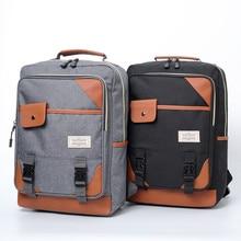 цены на Vintage Laptop Backpack Women Unisex Bags Canvas Large Capacity Men Travel Casual Backpacks School Bags For Teenager Mochila  в интернет-магазинах