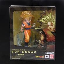 18cm Super Saiyan 3 Goku PVC Action Figure