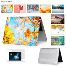 Hot Simulation Picture Case For Apple Macbook Air 13 Case 11 Pro 15 Retina 12 Laptop Bag For New Pro 13 Touch bar 15 Case -A1932 crystal case for apple macbook air pro retina 11 12 13 15 laptop bag for macbook pro 13 15 2017 model touch bar