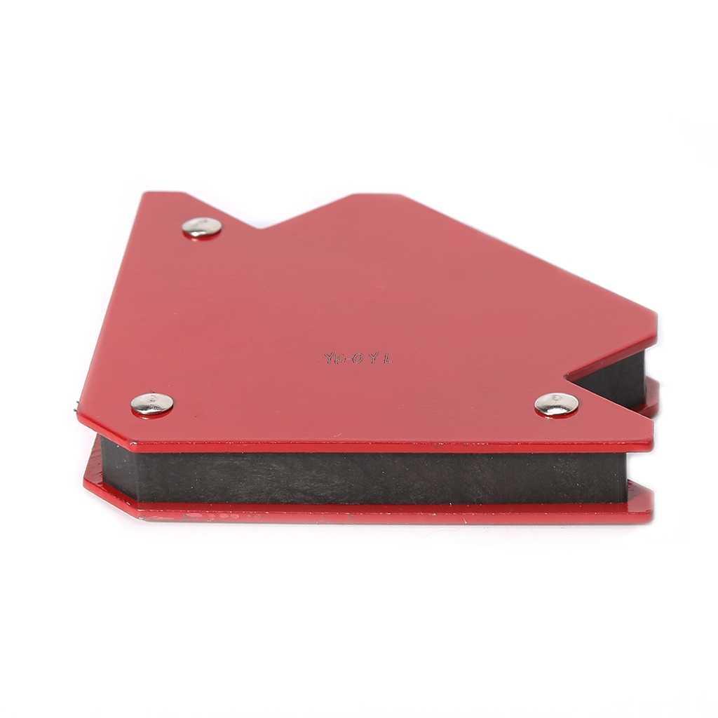 Soporte magn/ético de soldadura 2 piezas Localizador de soldadura de flecha Accesorios de soldadura de soporte magn/ético de soldadura 45//90//135 grados