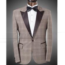 New Arrival Men's Fashion Formal Dress Suit Sets Wedding Dress Male MC The Host Suit Jacket Plus Size (suit+pant) free shipping