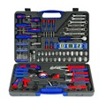 WORKPRO 139PC Precision Tools Set Screwdriver Set Plier Sockets Wrench Saw Hammer Household Tool Kit