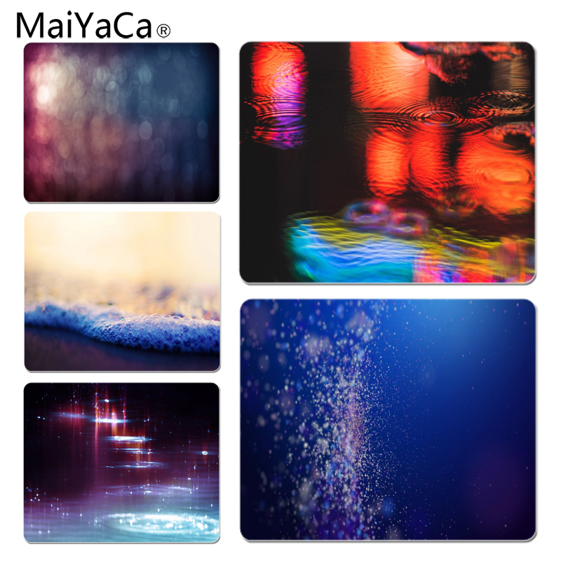 MaiYaCa Water Glare Large Mouse pad PC Computer mat Size for 18x22x0.2cm Gaming Mousepads