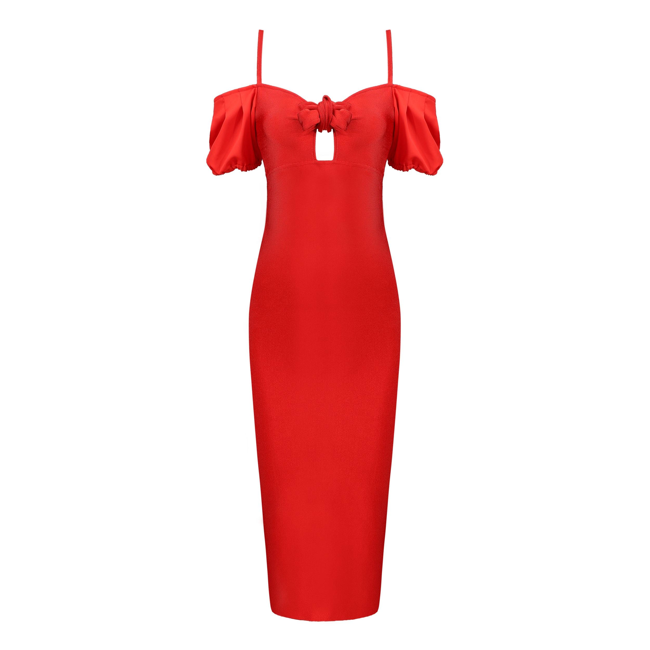 Deavogy 2018ใหม่ผู้หญิงปาเก็ตตี้สายB Odyconพรรคผ้าพันแผลชุด-ใน ชุดเดรส จาก เสื้อผ้าสตรี บน AliExpress - 11.11_สิบเอ็ด สิบเอ็ดวันคนโสด 1