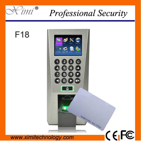 F18 biometric fingerprint access control tcp/ip time attendance zk access controller F18/ID sony sal35 f18