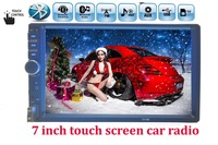 Newest 7 Inch LCD HD Double DIN Car In Dash Touch Screen Bluetooth FM MP4 MP5