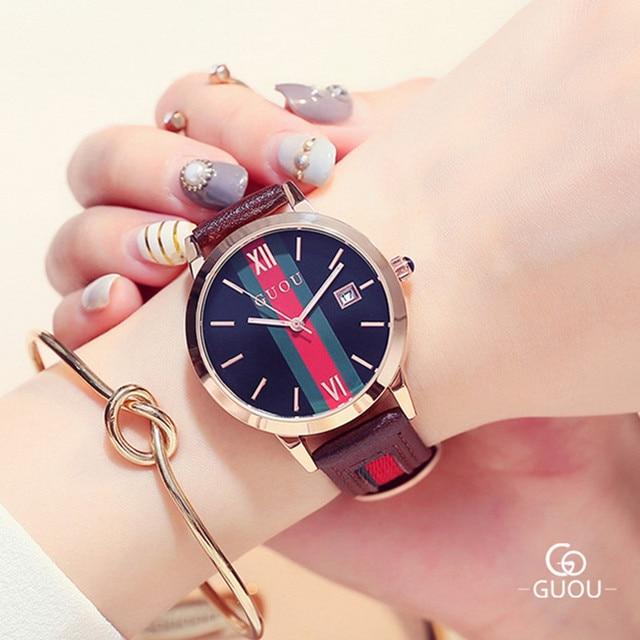 Famous Brand Women's Watches Auto Date Watch Women Watches Fashion Watch Clock S