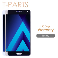 AMOLED LCD For SAMSUNG Galaxy A5 2015 Display A500F LCD A500FU A500 A500M Touch Screen For