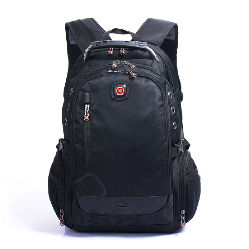 "Brand Swiss Laptop 15""Backpack External Swiss Computer Backpacks Anti-theft Backpack Waterproof Bags for Men Women backpack"
