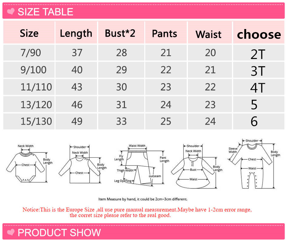 2017 Summer Casual Kids Clothing Baby Girls Clothes Sets Heart Printed Girl Tops Shirt + Shorts Pants Suits Children's Clothing