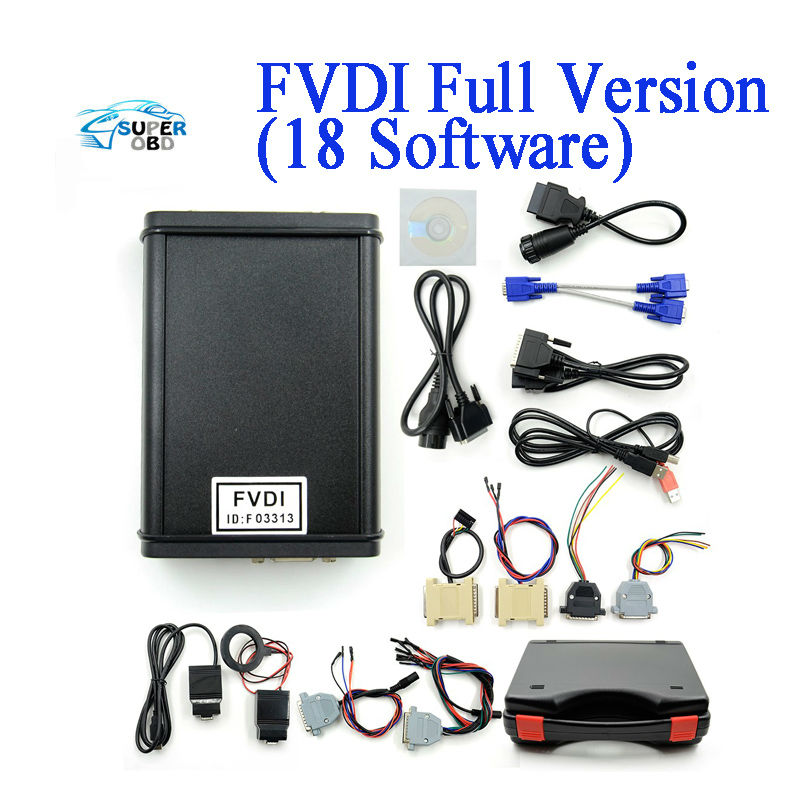 FVDI ABRITES Full Commander with 18 Software 100 Good Quality unlimited time for use DHL free