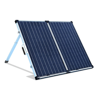 BOGUANG 120W Foldable high efficiency solar panel power charge phone tablet and digital camera RV motor homes trucks outdoor use
