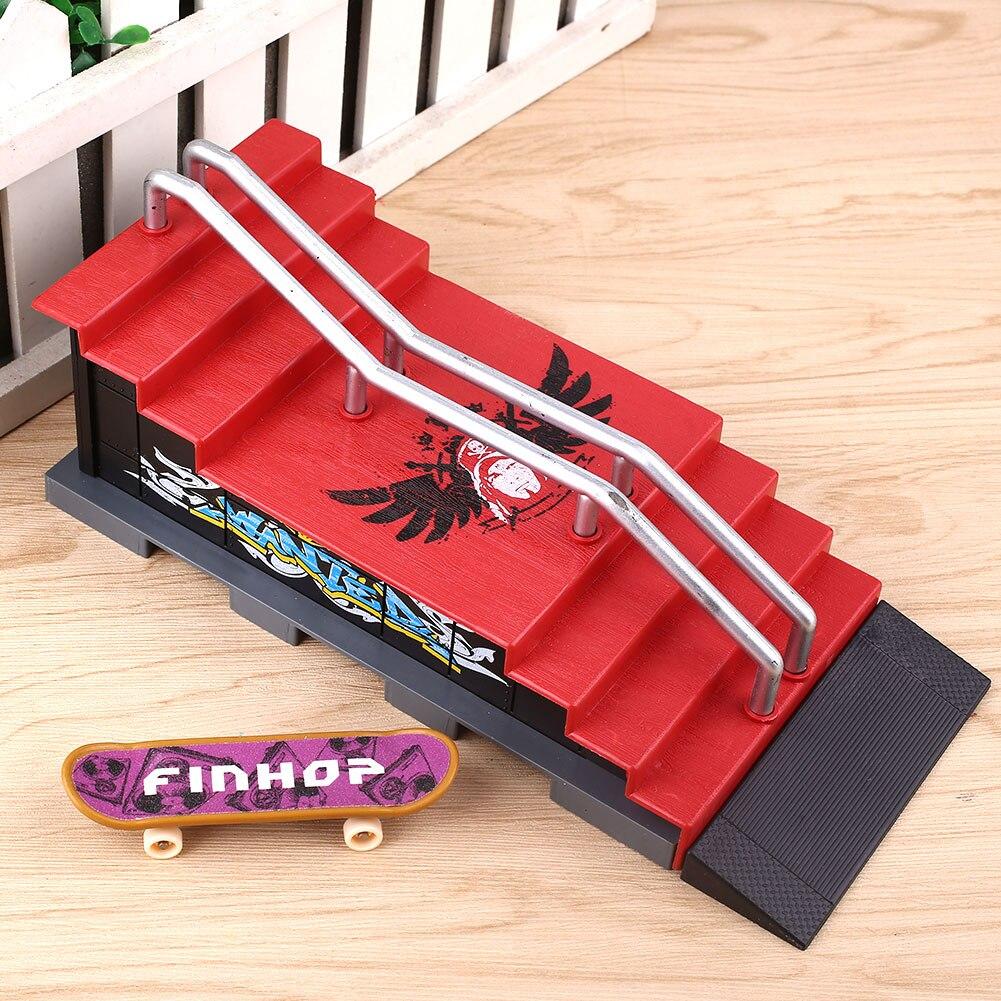 Finger Skateboards Ort Montage Set Kit Spielzeug Kunststoff Legierung Finger Sport Niedriger Preis