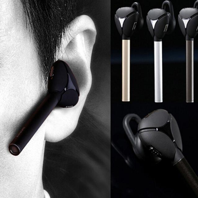 Remax rb-t3 metal v4.1 bluetooth disparador remoto inteligente auriculares auriculares estéreo de auriculares de negocios para samsung apple nokia htc fq