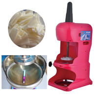 Commercial ice shaver machine snowflakes ice crusher electric block shaving machine