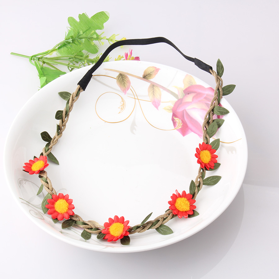 Hot Sale Flower Crown Headband Beautiful Floral Accessories For