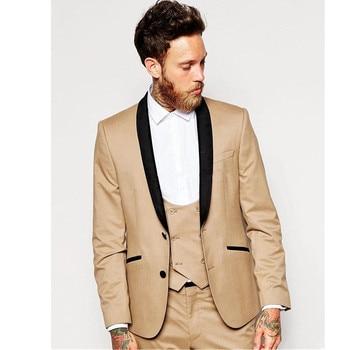 Mens Wedding Suits Tuxedo Set Slim Fit Man Suits Brand Blazer Masculino Dress Suit For Men Groom wedding dress custom made